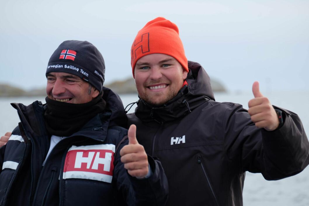 HVASSER: Landslagsseilere og landslagstrenere vil være på plass på Hvasser og bidra med kunnskap og råd under treningen der. Anton Garotte og Anders Pedersen vil være blant dem.