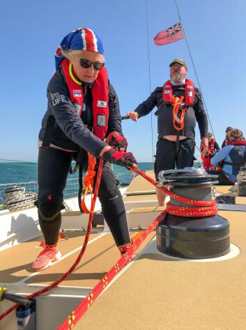 AMATØRENES VOLVO OCEAN RACE: Det er ingen krav om seilerfaring i Clipper Race, men alle deltagerne må gjennom fire ukers trening før regattaen. Deltagerne utgjør mannskapet og utfører alle jobber om bord.