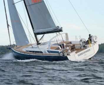 NY: Beneteau Oceanis 50.1 er ny i Norge.