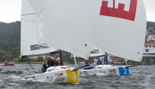 Vestfold-oppgjør om seieren i seilsportsligaen
