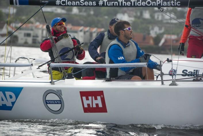 KAMP OM EUROPABILLETT: Askøy Seilforening seiler for en plass i Sailing Champions League.