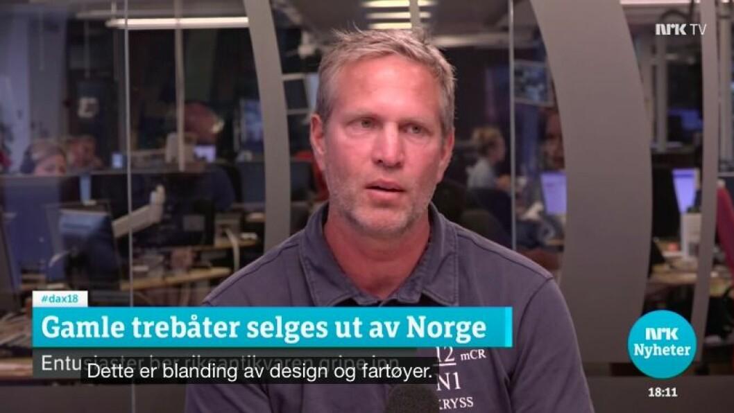 Peter Ennals på Dagsnytt 18 7/9