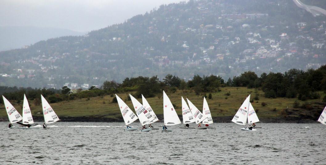 OSLO: 40 Lasere deltok under NM i Laser i Bundefjorden.