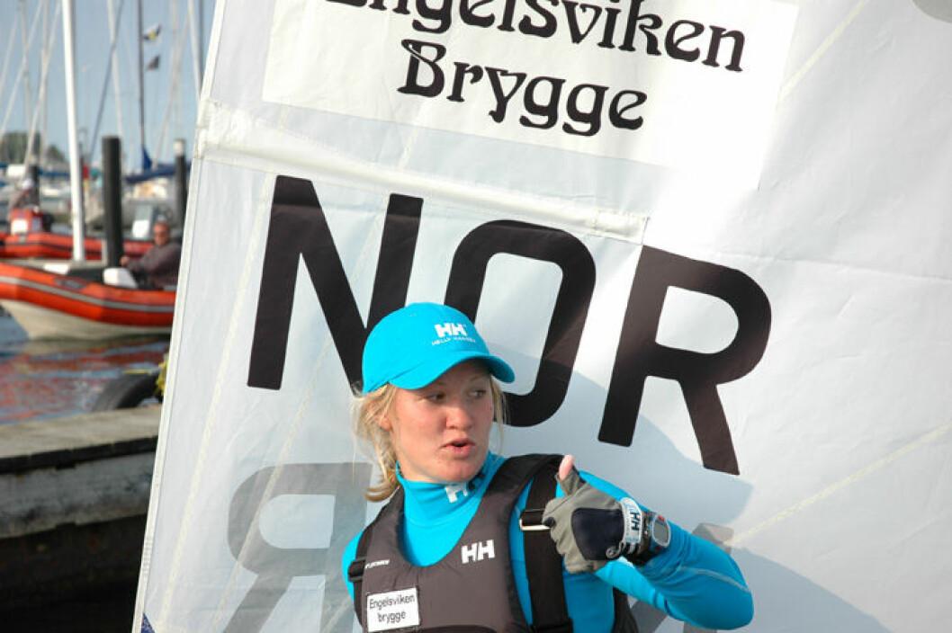Tre norske båter i medalrace i Kiel