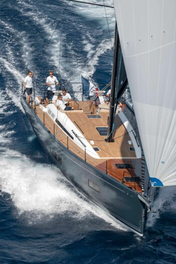NYHET: First Yacht 53 vises frem for publikum for første gang.