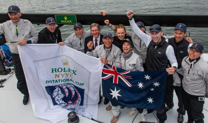 Vinnerlaget fra Australia i NYYC Invitational Cup