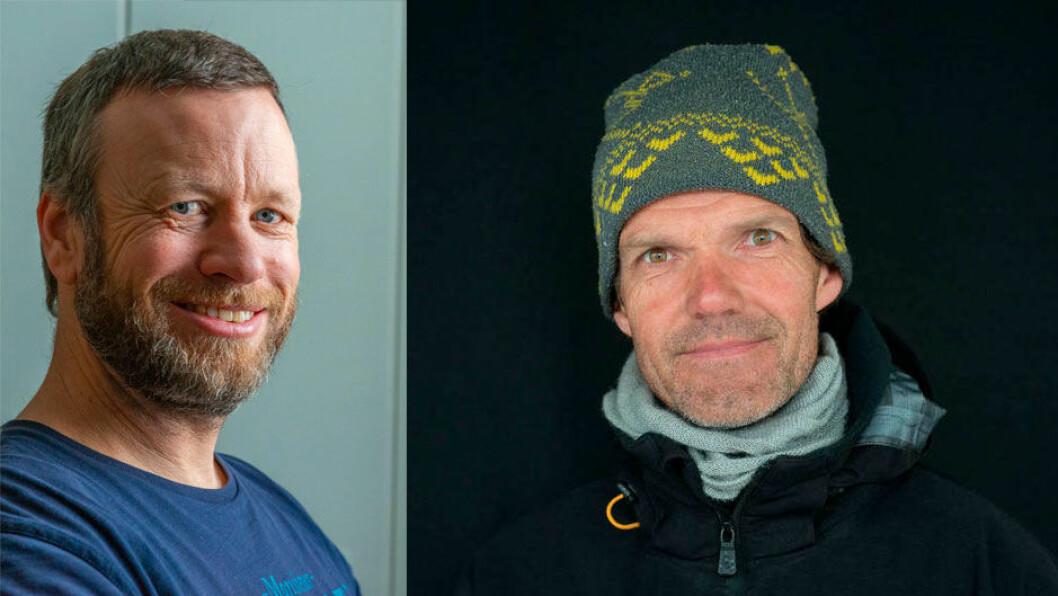 KAMP OM TITTELEN: Både Yngvar Lønmo (t.v) og Thomas Robberstad kan ta tittelen Årets shorthanded-seiler kommende helg.
