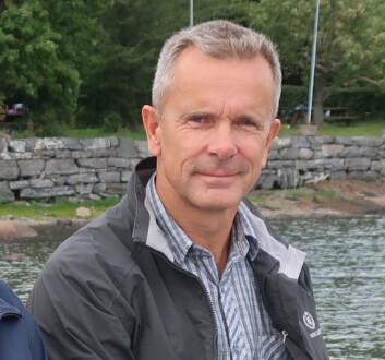 LEDER: Eivind Bakke følger foreningens verdier om idrettsglede, helse, felleskap og ærlighet.