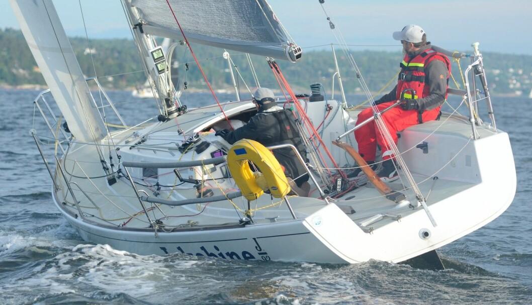 VANT: Yngve Lønmo og faren Asbjørn vant North Sails Nesodden Høstcup og Yngve sikret seg med det tittelen Årets Shorthanded-seiler.