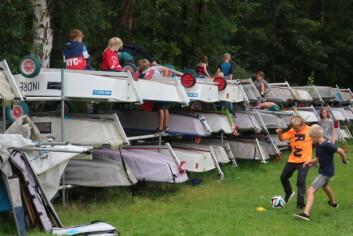REKRUTTERING: Mange unge seilere blir rekruttert via aktivitetsukene på i skoleferien.