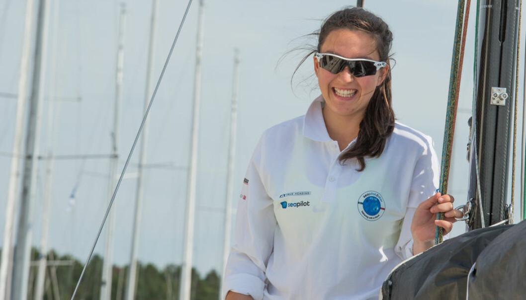 BEST AV DAMENE: Med en 12. plass totalt er Christine Walder fra Bærum best av damene på rankingen.