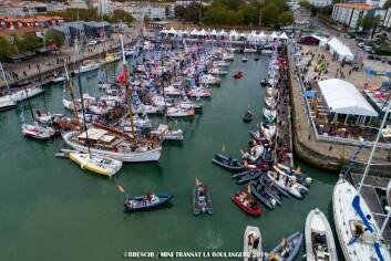 TRYKK: 87 båter er samlet i La Rochelle. Sailvillage åpnet 14. september
