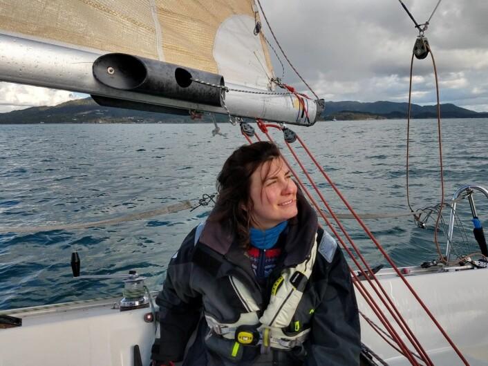 Michaela Weissova, leder i Stord Seilforening.