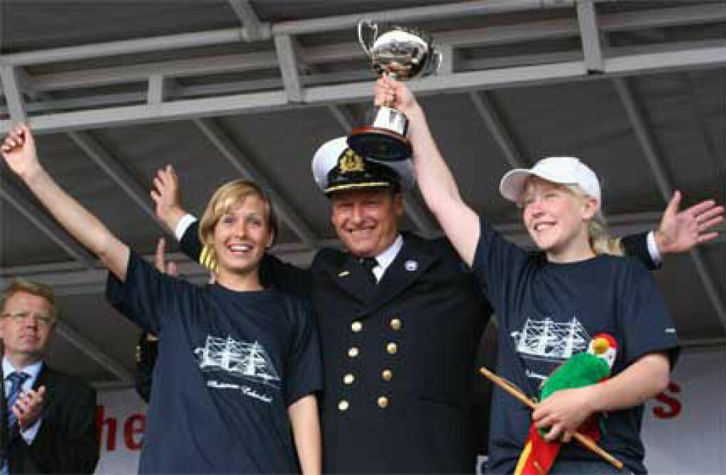 Tredobbelt norsk i Tall Ships Race