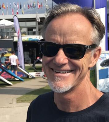 STARBOARD: Svein Rasmussen startet opp eget brettmerke etter at han la opp som brettseiler.