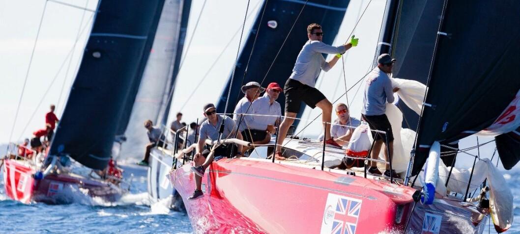 Britisk seier i Club Swan 50 på en dag da de norske seilerne ikke hadde lykken på sin side