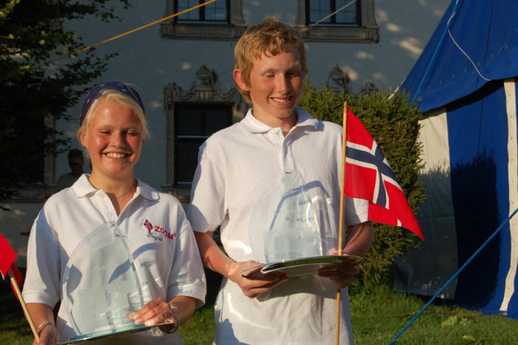 To Norske sølvmedaljer i Zoom8 VM