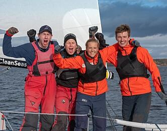 Nacra-seilerne er best i landet