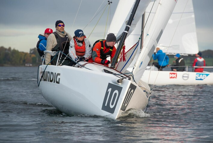 SØLV: Express-laget til ungdommene Fabian Spone og Pelle Horn Johannessen tok sølv og hadde fått solid forsterkning i kraft av Eivind Melleby og Lars Horn Johannessen.
