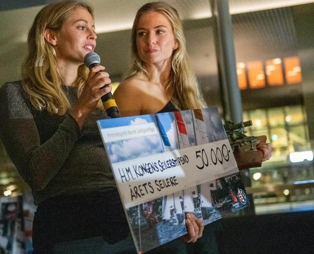 ÅRETS SEILERE 2019: Helene Næss og Marie Rønningen.