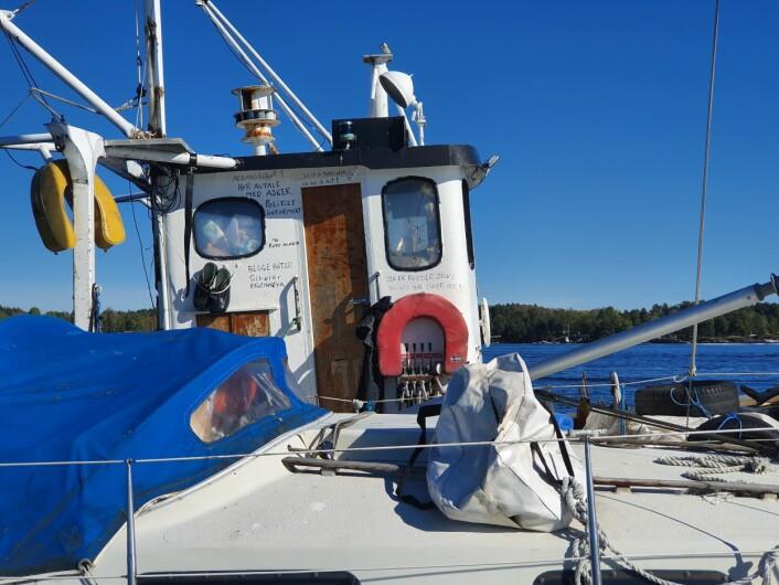 FRILUFT: Båter kan ikke ligge på samme sted mer enn to døgn i henhold til friluftsloven.
