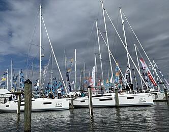Mange europeiske båter i USA