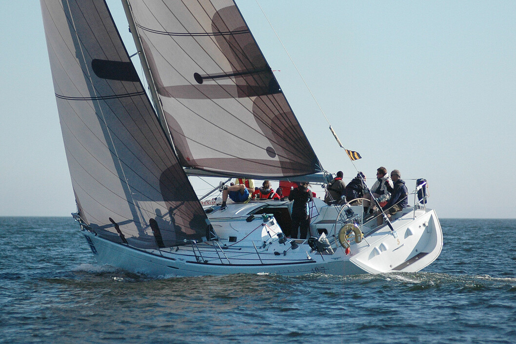 RACING: First 40.7 er en fullblods seilbåt som allerede har gjort furore på regattabanen.