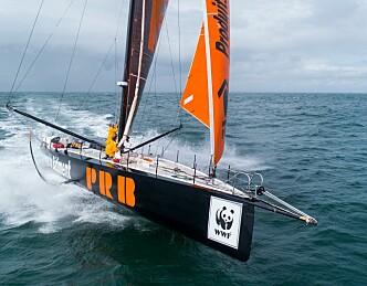 10 år gammel båt i ledelse