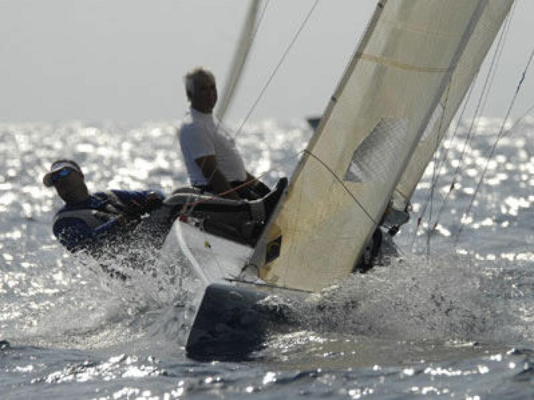 Norske seilere i kamp om sølvet