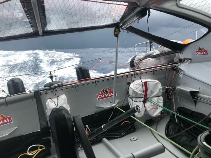 LEDET: «Charal» har ledet mesteparten av regattaen.