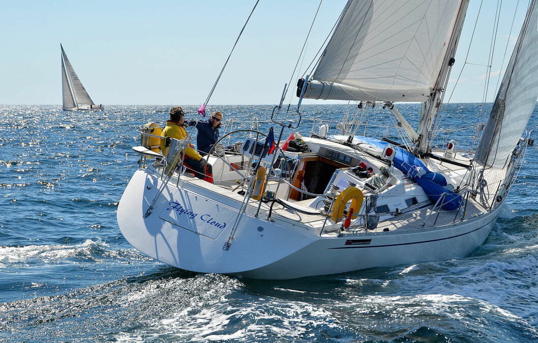 TEST: Sweden Yacht 45 ble lansert i 1999 og produsert frem til konkursen i 2008. Båten solgte godt i Norge.