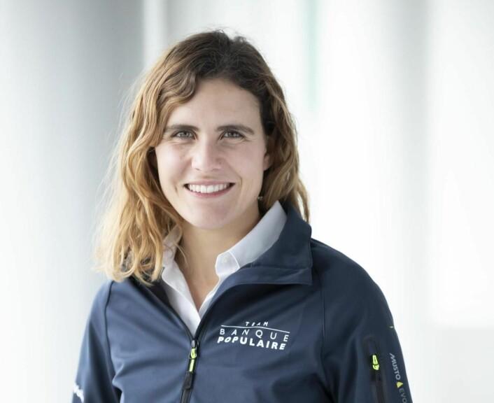 STJERNE: Clarisse Crémer vil bidra til å øke interessen for seiling i frankrike til nye høyder.