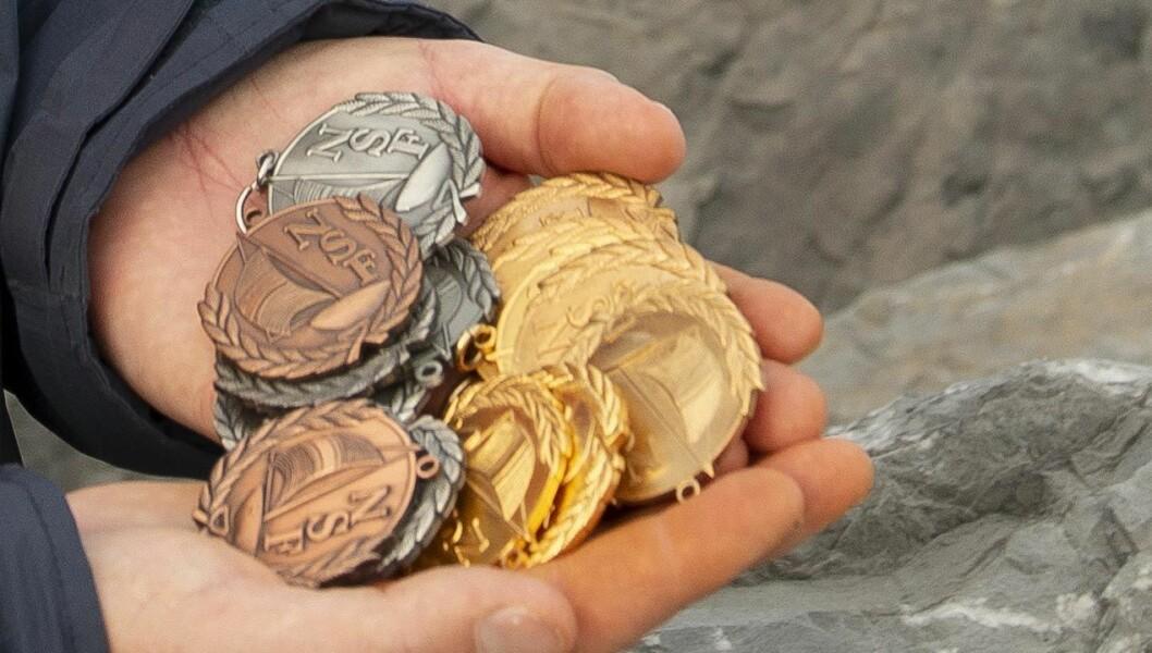 MEDALJER: Hvor NM-medaljene skal fordeles i 2020, begynner å bli klart.