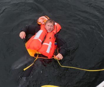MOB: Sigmund Hertzberg ble reddet av Håkon Hjorthøy i sommer. Her er historien.