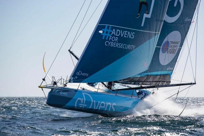 VERDIER: Thomas Ryuant har en båt fra samme konstruktør som Charlie Dalin, og er tredje nye generasjon IMOCA blant de fire beste.