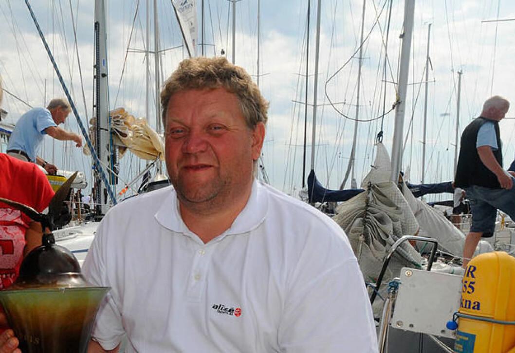 SEILTRIM: Arild Heldal skal snakke om seiltrim på temakveld i Asker Seilforening til vinteren.