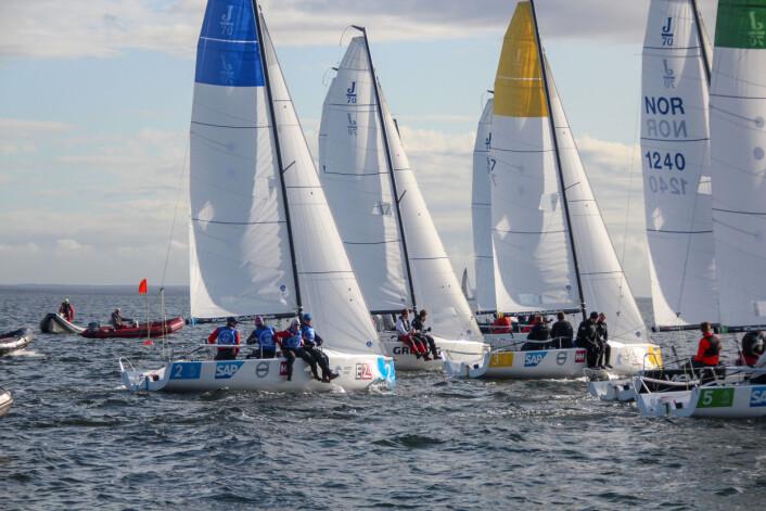 VANT: Åsgårdstrand Seilforening gikk til topps i årets seilsportsliga.
