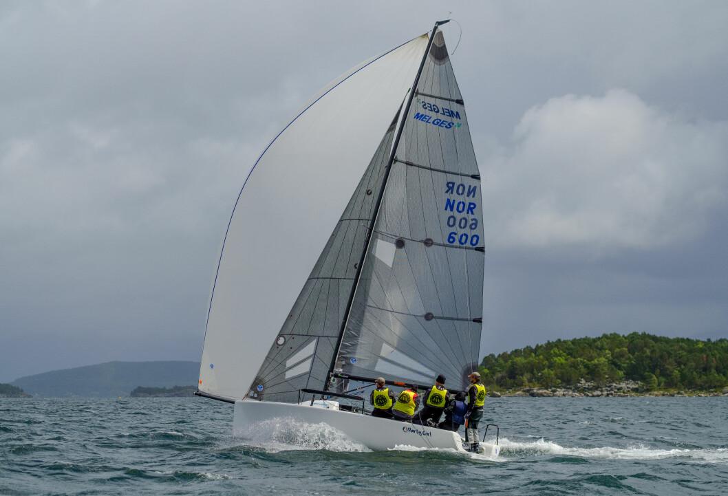 MELGES 24: Klassebåt og sportsbåt etter NOR Ratings definisjon.