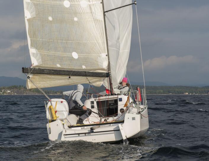 KLASSEBÅT: Seascape 27 er eksempel på en aktuell sportsbåt.