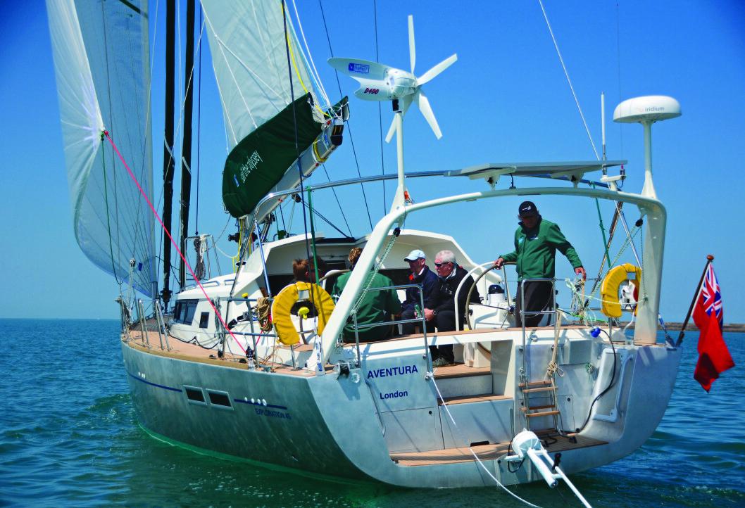 NORDOVER: «Aventura IV», Cornells siste båt, somhan brukte gjennom Nordvest-passasjen.