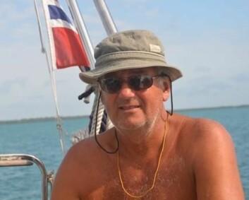 REDDET: Harald Solfjeld seilte solo da båten hans startet å fikk slått inn skrogvinduene, og synke i voldomt vær.