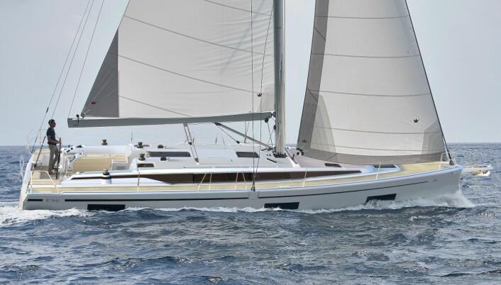 NY: Bavaria C42 lanseres under Boot i Dusselforf i januar.
