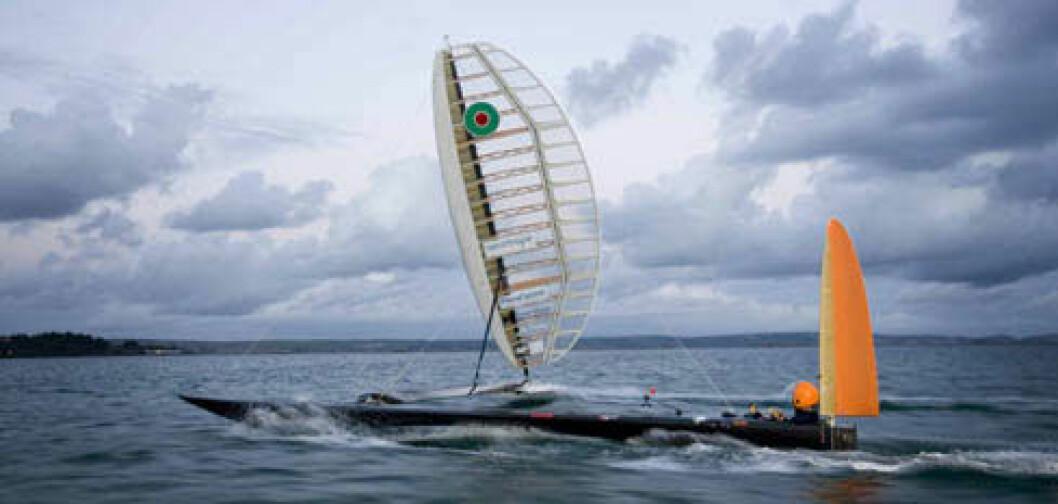 Sailrocket nærmer seg rekorden