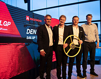 Rockwool sponser dansk SailGP-lag