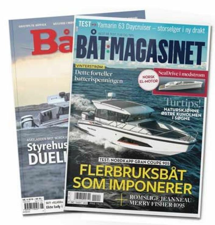 ETT: Båtliv kommer inn under Båtmagasinet.