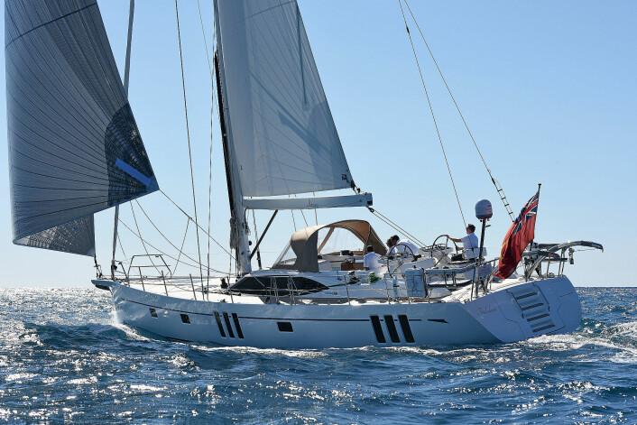 Luksuriøse båter: Oyster 565.