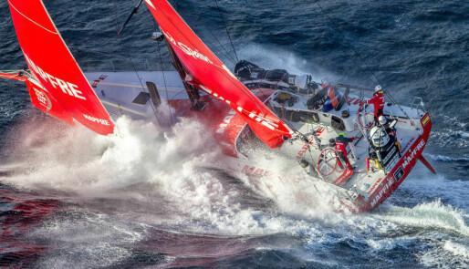 Ti minutters spektakulær dronefilming fra Volvo Ocean Race 2017/18