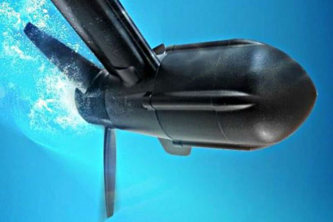 ENERGI: Seatronic S600 hydrogen generator produserer strøm under veis.