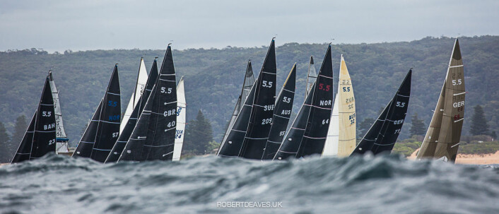 2020 5.5 World Championship -  Newport, Pittwater, Australia ? 9-13 January