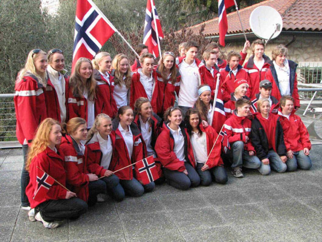 30 norske seilere EM klare